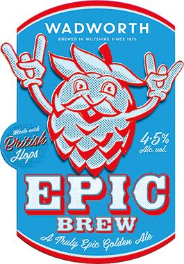 Beer - Wadworth Epic Brew, Cask 9 gal x 1 | Matthew Clark