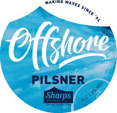 Sharps Offshore Pilsner Lager, Can