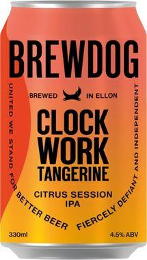 Brewdog Clockwork Tangerine, Can 330 ml x 24