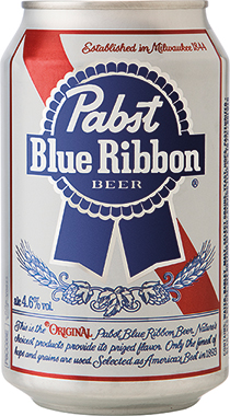 Pabst Blue Ribbon Beer, Can 330 ml x 24 (1)