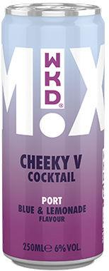 WKD Cheeky V Cocktail, Can 250 ml x 12