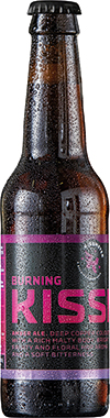 Kissmeyer Burning Kiss, Amber Ale, NRB 330ml x 18