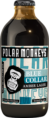 Polar Monkeys Amber Lager, NRB 330 ml x 24