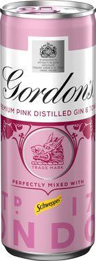 Gordons Pink Gin & Schweppes Tonic, Can 250 ml x 12