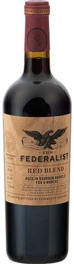 The Federalist Bourbon Barrel Aged Red Blend, Mendocino Country