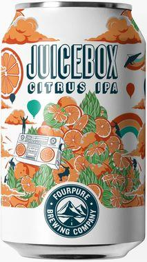 Fourpure Juicebox, Can 330 ml x 12