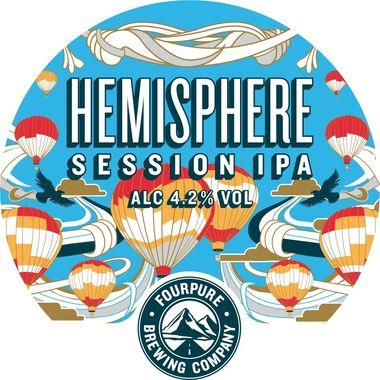 Fourpure Hemisphere Session IPA 30 lt x 1