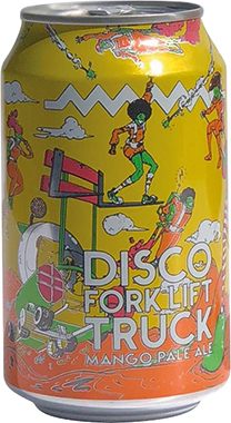 Drygate Disco Forklift Truck Mango Pale Ale, Can 330 ml x 12