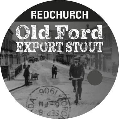 Redchurch Old Ford Export Stout, Keg 30 lt x 1