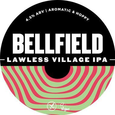 Bellfield Lawless Village IPA, Keg 30 lt x 1