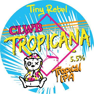 Tiny Rebel Clwb Tropicana, Keg 30 lt x 1