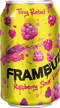 Tiny Rebel Frambuzi, Can 330 ml x 24
