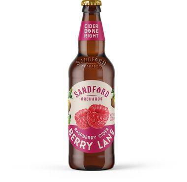 Sandford Berry Lane Cider with Raspberries 500 ml x 12
