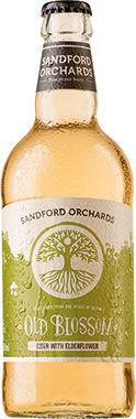 Sandford Old Blossom Cider with Elderflower 500 ml x 12