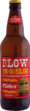 The Cotswold Cider Co. BlowHorn, Chai Spiced Cider 330 ml x 24