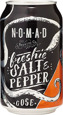 NOMAD Freshie Salt & Pepper Gose, Can 330 ml x 24