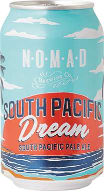 NOMAD South Pacific Dream - South Pacific Ale, Can 330 ml x 24
