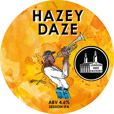 The London Beer Factory Hazey Daze Session IPA, Keg 30 lt x 1