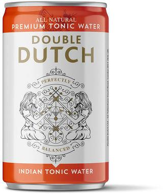 Double Dutch Indian Tonic, Can 150 ml x 24