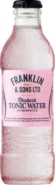Franklin & Sons Rhubarb Tonic with Hibiscus 200 ml x 24