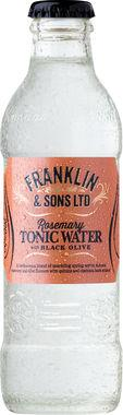 Franklin & Sons Rosemary Tonic Water with Black Olive 200 ml x 24