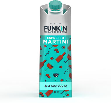 Funkin Espresso Martini cocktail mixer