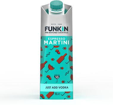 Funkin Espresso Martini cocktail mixer 1lt