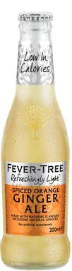 Fever Tree Refreshingly Light Spiced Orange Ginger Ale, NRB 200 ml x 24 (1)