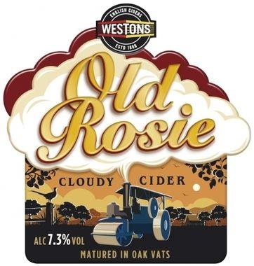 Weston's Old Rosie Cloudy Cider, BIB 20 lt x 1