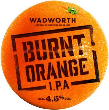 Wadworth Burnt Orange IPA, Cask 9 gal x 1