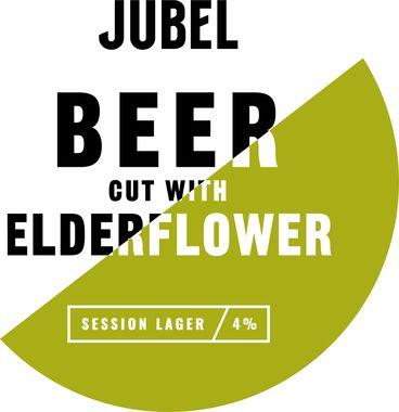 Jubel Urban Beer cut with Elderflower, Keg 30 lt x 1