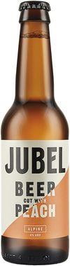 Jubel Alpine Beer cut with Peach, NRB 330 ml x 12