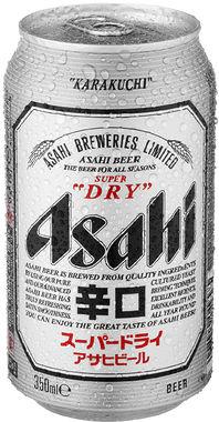 Asahi Super Dry, Can