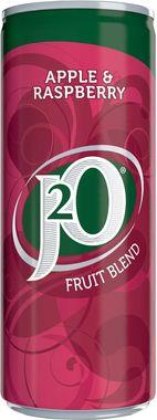 J2O Apple & Raspberry, Can 250 ml x 12