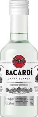 Bacardi Carta Blanca Minatures 5cl (1)