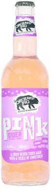 Orchard Pig Pink Cider, NRB