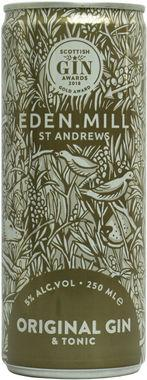 Eden Mill Original Gin & Tonic Can 250 ml x 12