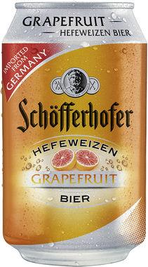 Schofferhofer Grapefruit, Can 330 ml x 24