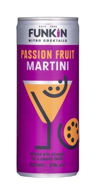 Funkin Passion Fruit Martini Cocktail Can 200ml
