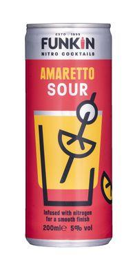 Funkin Amaretto Sour Nitro Cocktail Can 200ml
