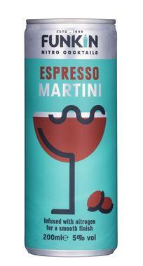 Funkin Espresso Martini Nitro Cocktail Can 200ml