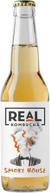 REaL Kombucha Smoke House - non alcoholic alternative to a cider