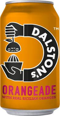 Dalston's Orangeade, CAN 330 ml x 24