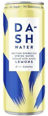 Dash Sparkling Lemon, Can 330 ml x 12