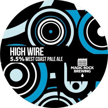 Magic Rock High Wire West Coast Pale Ale, Keg 30 lt x 1