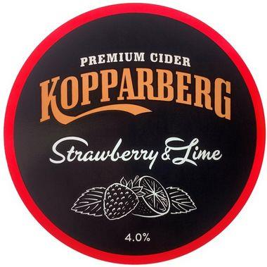 Kopparberg Strawberry & Lime, Keg 50 lt x 1