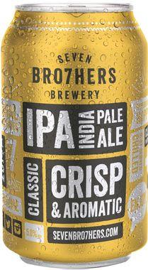 Seven Bro7hers IPA, Can 330 ml x 12