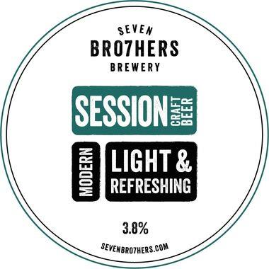 Seven Bro7hers Session, Keg 30 lt x 1