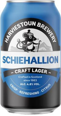 Harviestoun Schiehallion Craft Lager, Can 330 ml x 24