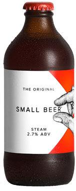 The Original Small Beer Steam 2.5% ABV 350ml x 24
